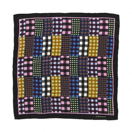 Beck Söndergaard Tørklæde, Mukki Sia, Multi Col. Beck Søndergård silke tørklæde med patchwork print