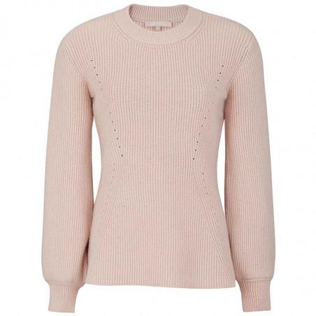 Soft Rebels Strik Bluse, SRJenny LS Knit, Brush Pullover