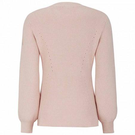 Soft Rebels Strik Bluse, SRJenny LS Knit, Brush Pullover ryg