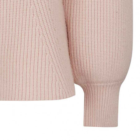 Soft Rebels Strik Bluse, SRJenny LS Knit, Brush Pullover ribkant