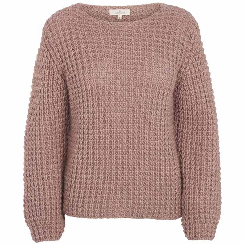 Basic Apparel Sweater, Laurie Sweater, Nostalgia Rose Strikket Pullover