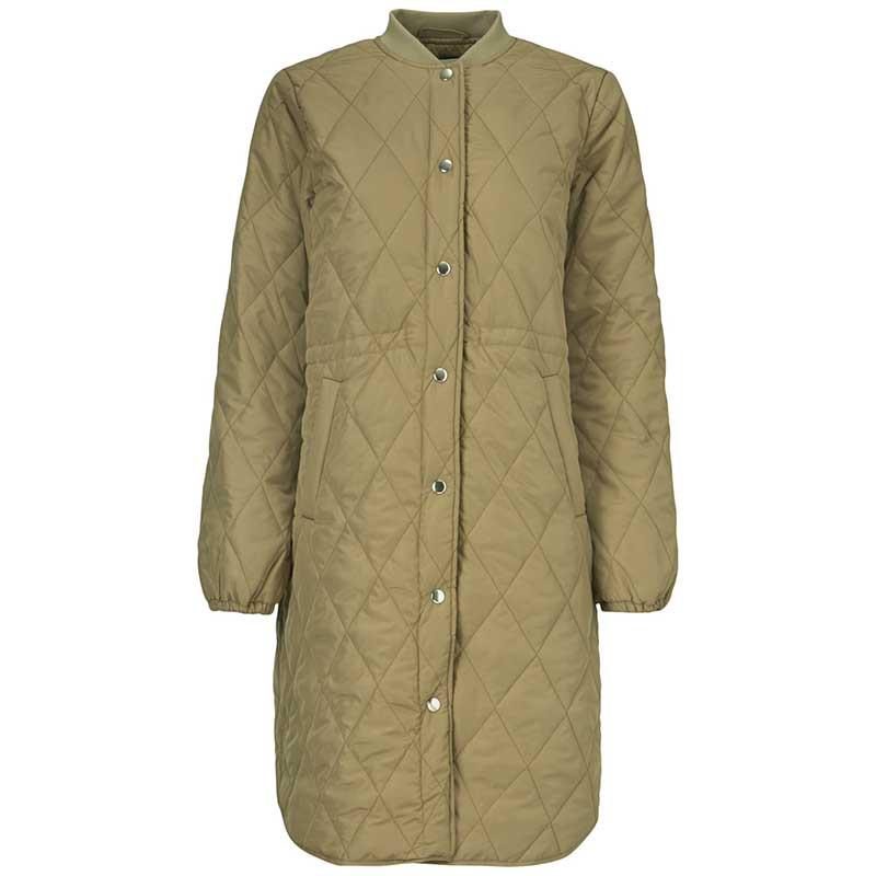 Modström Jakke, Kip, Canyon Clay, kviltet jakke, quilted, overgangsjakke