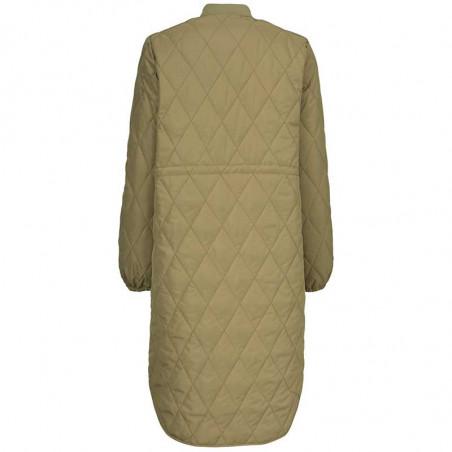 Modström Jakke, Kip, Canyon Clay, kviltet jakke, quilted, overgangsjakke, efterårsjakke