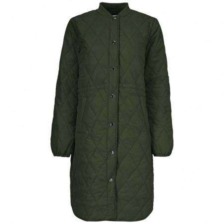 Modström Jakke, Kip, Dark Army, kviltet jakke, quilted, armygrøn, overgangsjakke