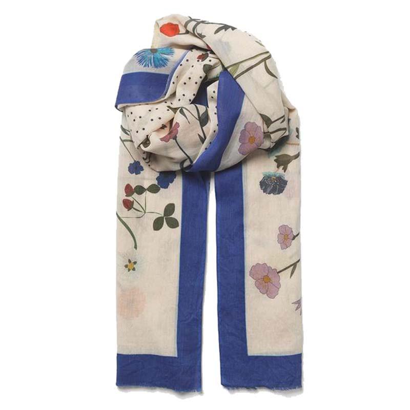 Beck Söndergaard Tørklæde, Champ De Fleur, Whitecap Gray Beck Søndergård scarf