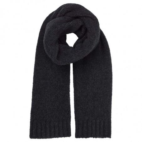 Basic Apparel Halstørklæde, Marnie, Dark Grey Melange