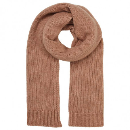 Basic Apparel Halstørklæde, Marnie scarf, Camel Melange
