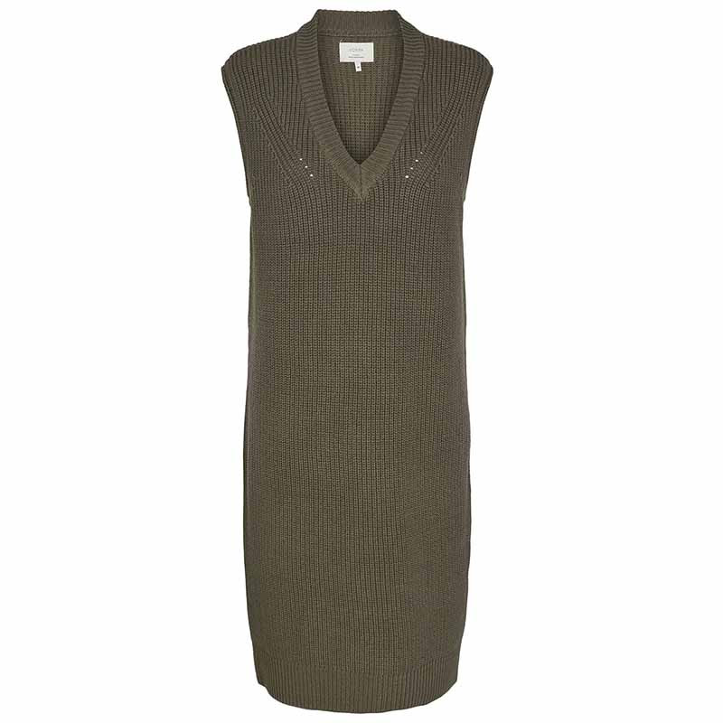 Nümph Kjole, Nuchaya Dress, Grape Leaf numph strik kjole vest