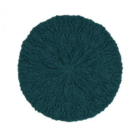 King Louie Hat, Ophelia, Pine Green Strikket hat