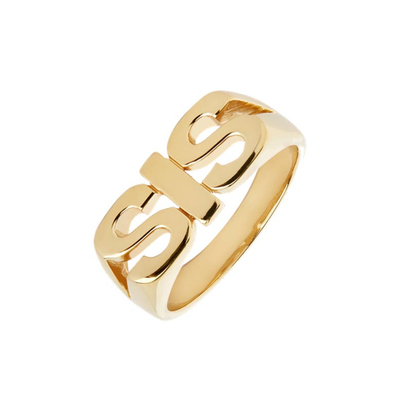 Maria Black Ring, Sis, Guld, fingerring, guldring, guldsmykke, smykke, sterling sølv