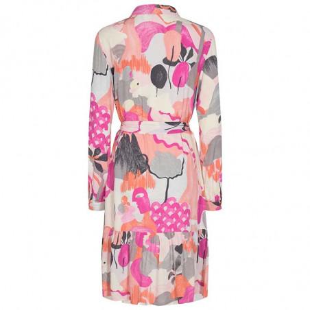 Nümph Kjole, Nucicely Dress, Rose Violet Numph kjole skjortekjole ryg