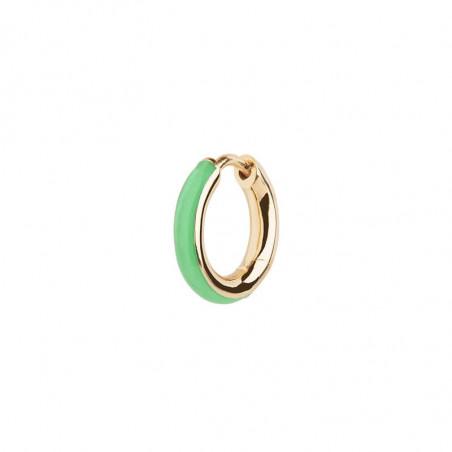 Maria Black Ørering, Kate, Emerald, resin, guldsmykker, øreringe, creol