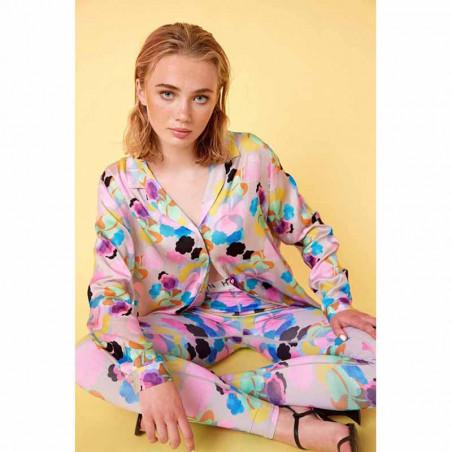 Hunkøn Skjorte, Candy Clouds Shirt, Candy Clouds Print på model look