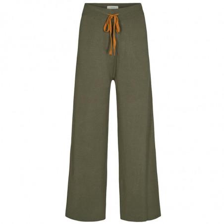 Nümph Bukser, Numalone Knit Pants, Grape Leaf Numph strik bukser