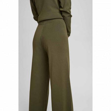Nümph Bukser, Numalone Knit Pants, Grape Leaf Numph strik bukser bagfra