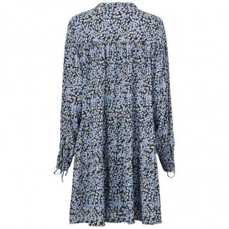 Modström Kjole, Menna Print Dress, Forest Fleur modstrøm kjole ryg