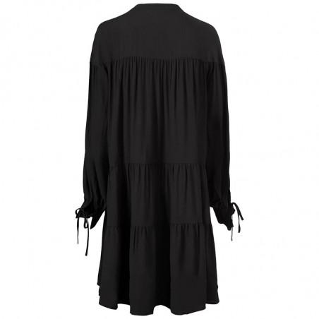 Modström Kjole, Menna Dress, Black Modstrøm kjole ryg