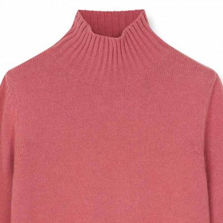 Sibin Linnebjerg Strik, Cat, Blush Sibin Linnebjerg Sweater pullover detalje
