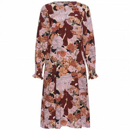 PBO Kjole, Lumila, Sand Flower, blomsterprint, blomstret kjole, silkekjole