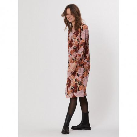 PBO Kjole, Lumila, Sand Flower, blomsterprint, blomstret kjole, silkekjole, style
