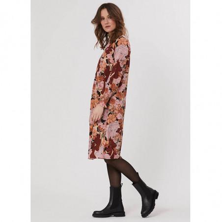 PBO Kjole, Lumila, Sand Flower, blomsterprint, blomstret kjole, silkekjole, smock