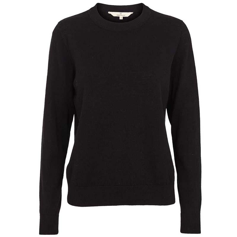 Basic Apparel Strik, Vera, Black, sweater, sweatshirt, loungewear