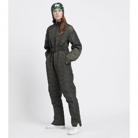Mads Nørgaard Flyverdragt, Logo Quilt Jessica, Beluga, vintertøj, overtøj, khakigrøn, mørkegrøn, jumpsuit, model