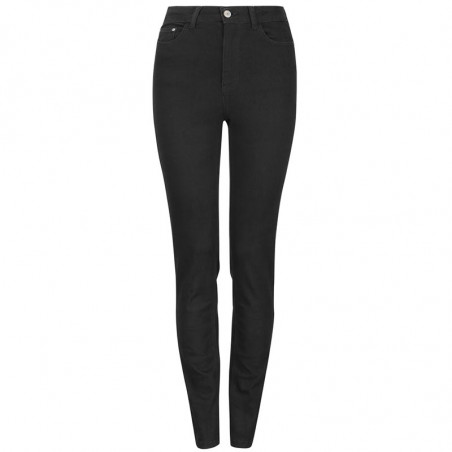 Soft Rebels Jeans, Highwaist Slim, Black, Skinny Jeans, Stramme Jeans, Bukser, Denim