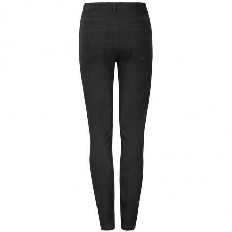 Soft Rebels Jeans, Highwaist Slim, Black, Skinny Jeans, Stramme Jeans, Bukser, Denim, bagside