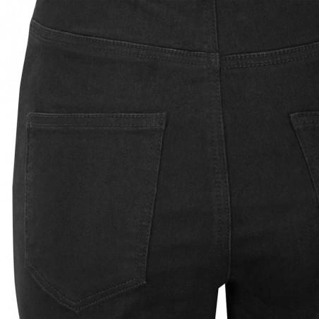 Soft Rebels Jeans, Highwaist Slim, Black, Skinny Jeans, Stramme Jeans, Bukser, Denim, Detalje