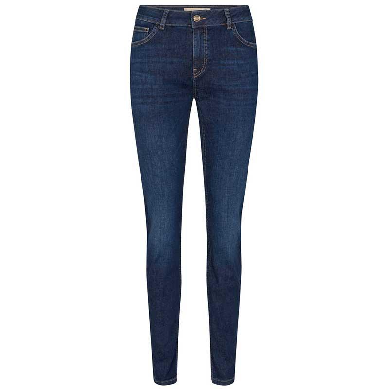 Mos Mosh Jeans, Regina Cover, Blue Denim MosMosh Denim bukser
