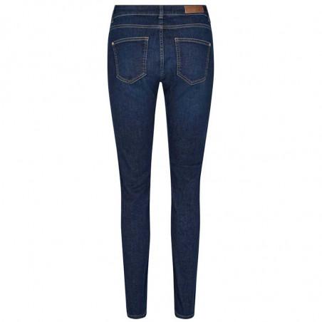 Mos Mosh Jeans, Regina Cover, Blue Denim MosMosh Denim bukser set bagfra