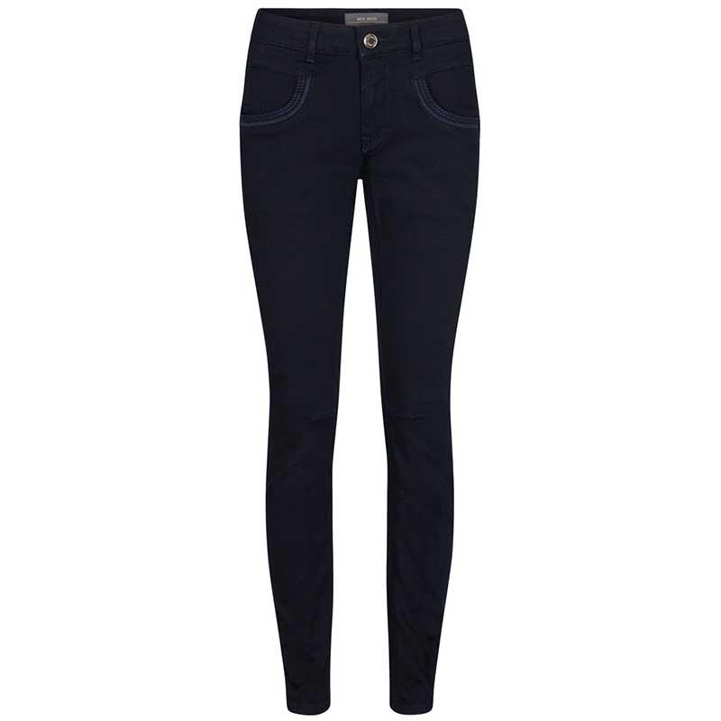 Mos Mosh Jeans, Naomi Deep Blue Regular, Dark Blue