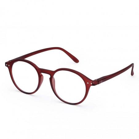 Izipizi Briller, D Reading, Mars izipizi læsebriller Unisex model med rødt stel