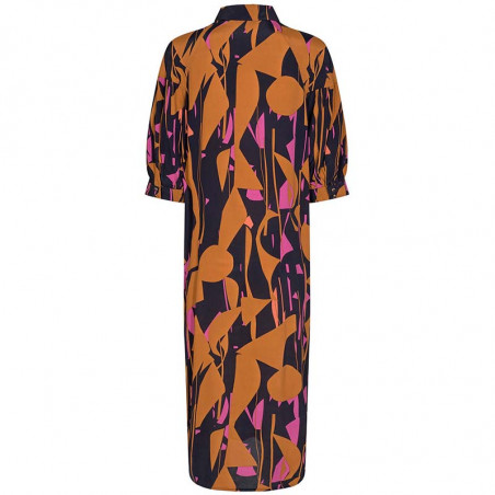 Nümph Kjole, Nucynara dress, Dark Sapphire, Bagfra