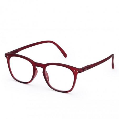 Izipizi Briller, E Reading, Red Mars Izipizi læsebriller unisex model set fra siden