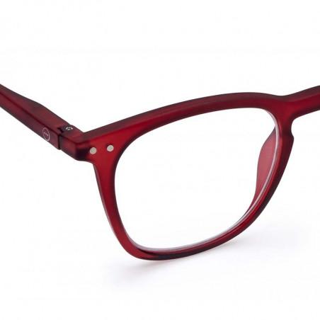 Izipizi Briller, E Reading, Red Mars Izipizi læsebriller unisex model detalje