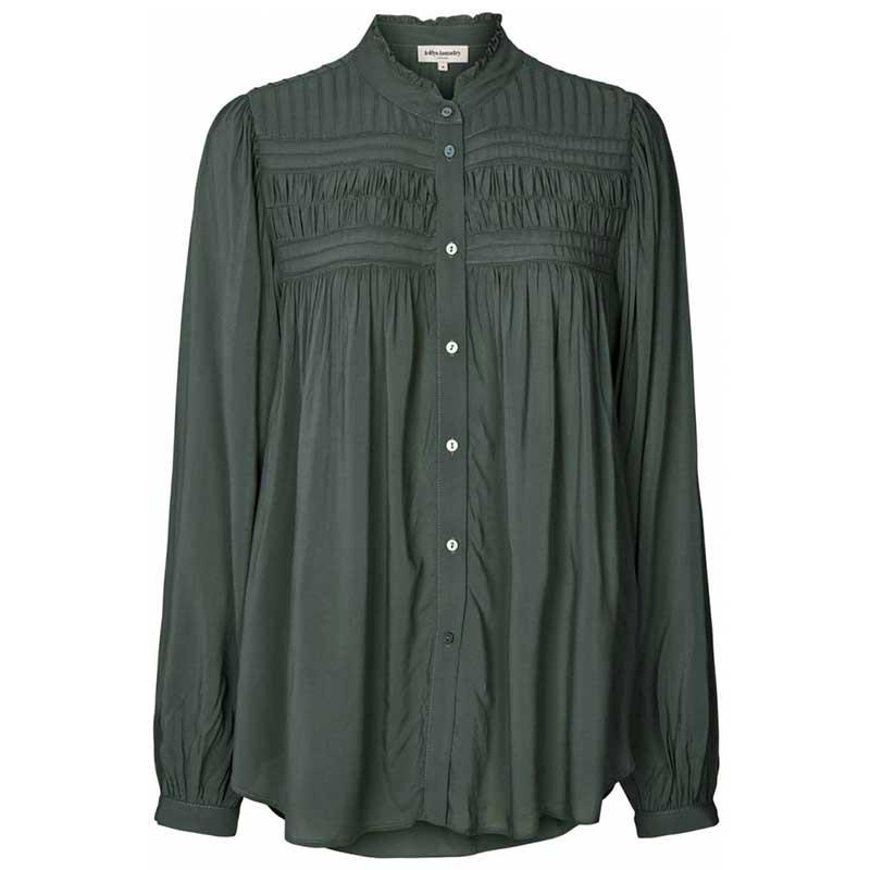 Lollys Laundry Skjorte, Cara, Dusty Green