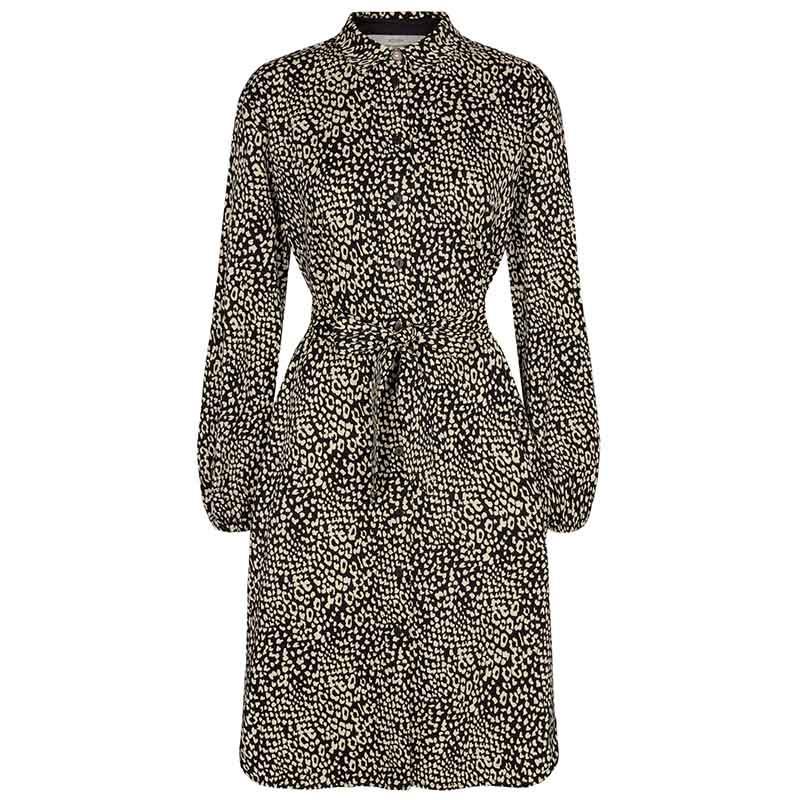 Nümph Kjole, Nujessica dress, Caviar, front, numph