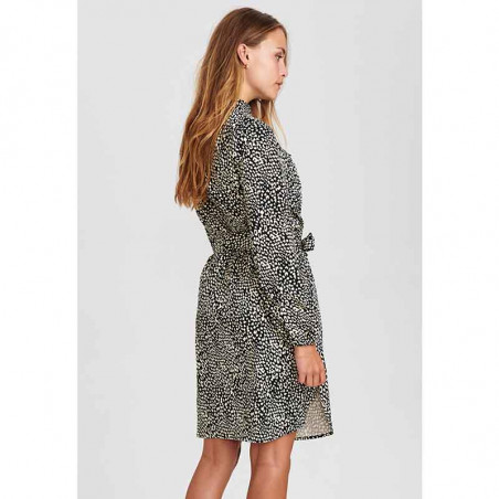 Nümph Kjole, Nujessica dress, Caviar, Model, Bagside