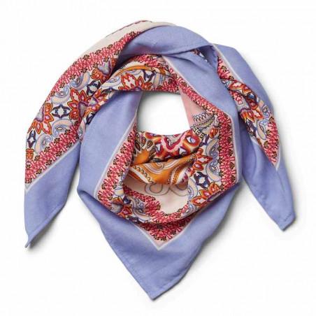 Lollys Laundry Tørklæde, Cora, Light Blue, Hår, Accessories, Lavendel, Lyseblå, Violet