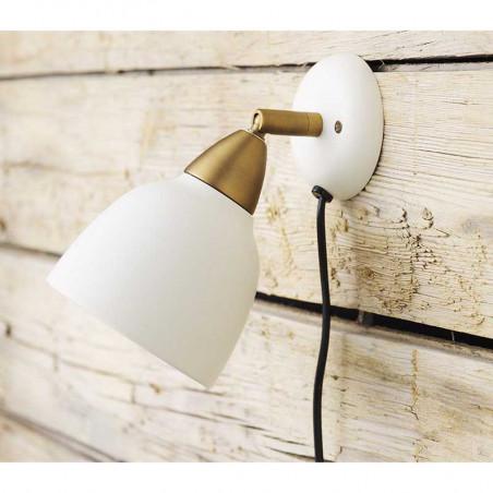 Superliving Lampe, Urban Short Wall, Whisper White Sengelampe Urban væglampe