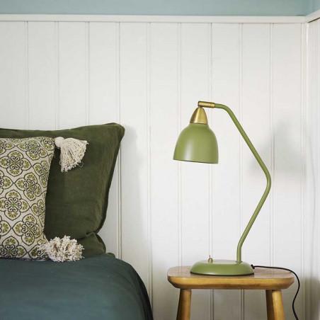 Superliving Bordlampe, Urban 345, Olive Sengelampe - læselampe - skrivebordslampe