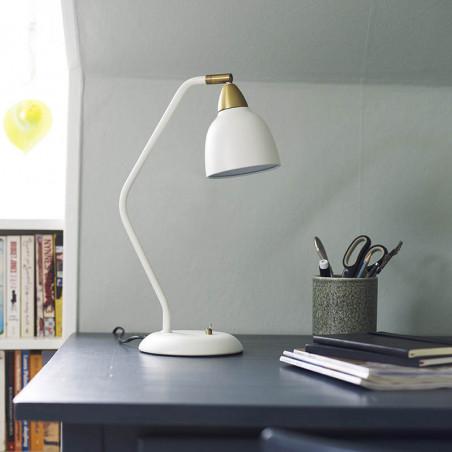 Superliving Bordlampe, Urban 345, Mat Whisper White skrivebordslampe