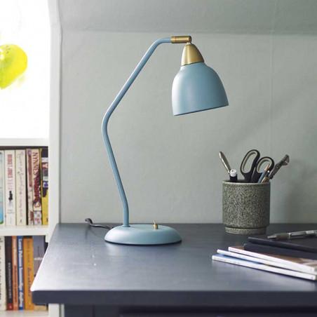 Superliving Bordlampe, Urban table lamp Mineral Blue dansk design lampe