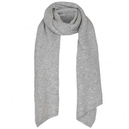 Nümph Tørklæde, Nuallen, Light Grey Mel