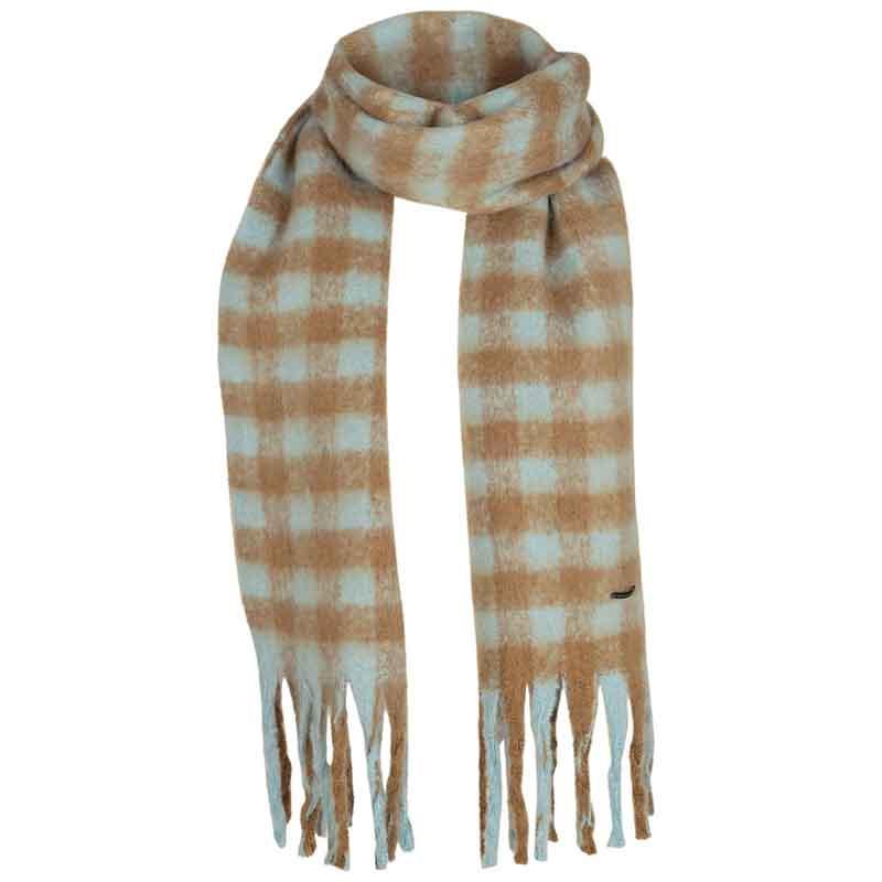 Nümph Tørklæde, Nukitten Check, Cathay Spice Numph halstørklæde med tern