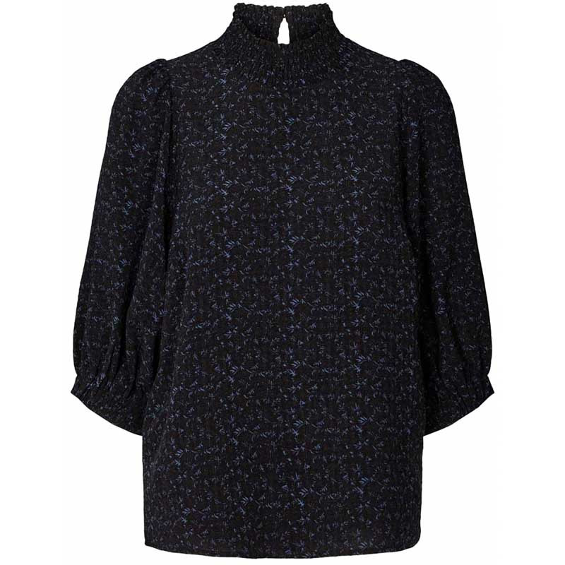 Lollys Laundry Bluse, Bobby Top, Black