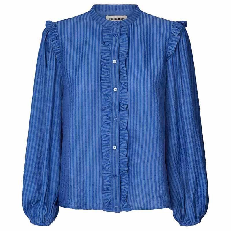 Lollys Laundry Skjorte, Sue, Blue