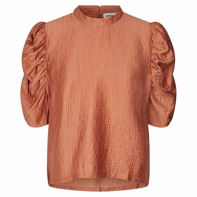 Lollys Laundry Bluse, Lou, Rust